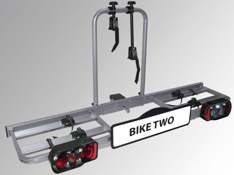 """Diverse EAL/EUFAB Heckträger Fahrradträger \""""Bike Two\"""" für Anhängerkupplung AHK Kupplung"""