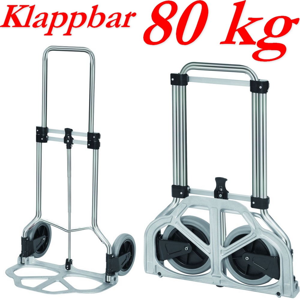 ruck zuck sackkarre transportkarre karre klappbar alu 80 kg neu ebay. Black Bedroom Furniture Sets. Home Design Ideas