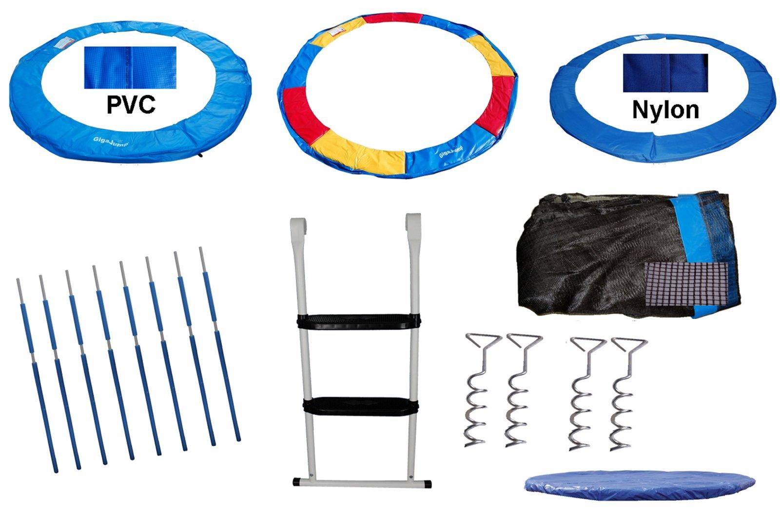 trampolin ersatzteile zubeh r netz randabdeckung abdeckplane leiter pvc bunt uvm ebay. Black Bedroom Furniture Sets. Home Design Ideas